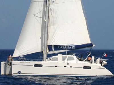location bateau Catana 471