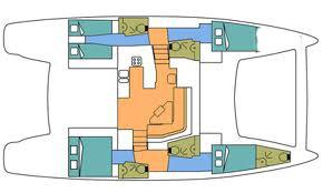 intérieur Catana 50