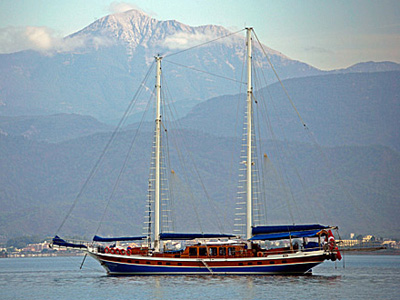 location bateau Cevri Hasan V