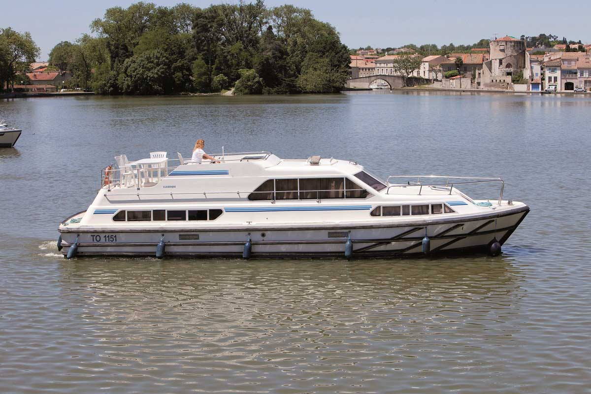 location bateau Classique
