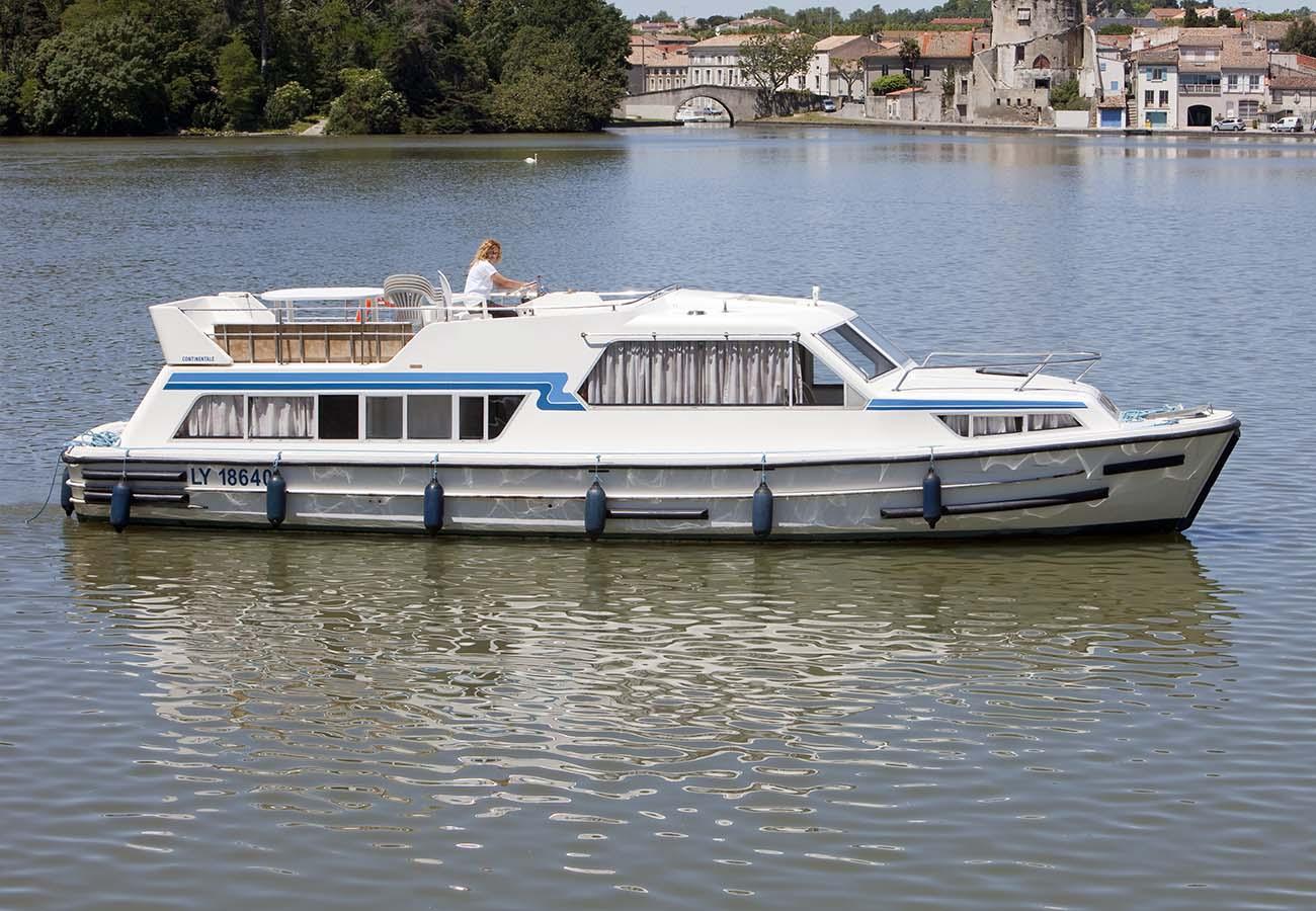 location bateau Continentale