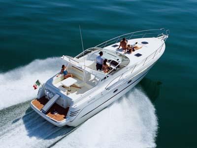 location bateau Cranchi Smeraldo 37