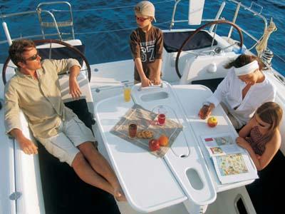 location bateau Cyclades 39