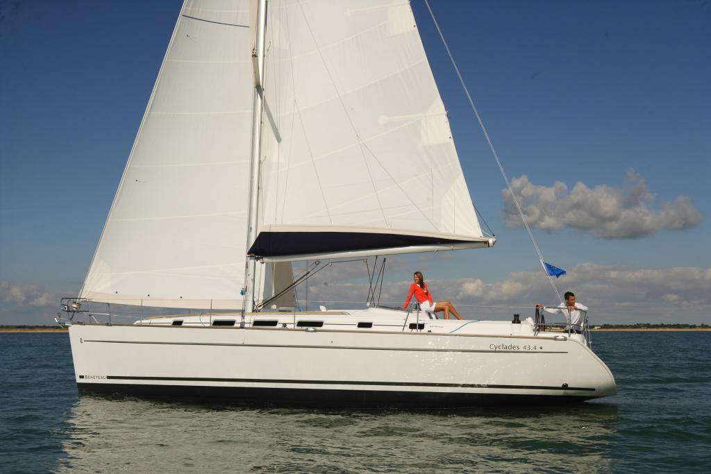 location bateau Cyclades 43.4