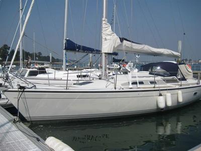 location bateau Dehler 37