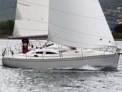 location bateau Delphia 40