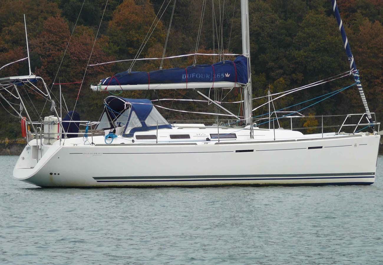 location bateau Dufour 365