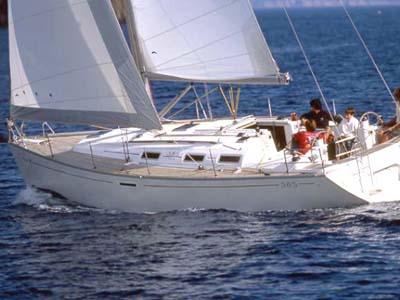 Location bateau  Dufour 385 GL