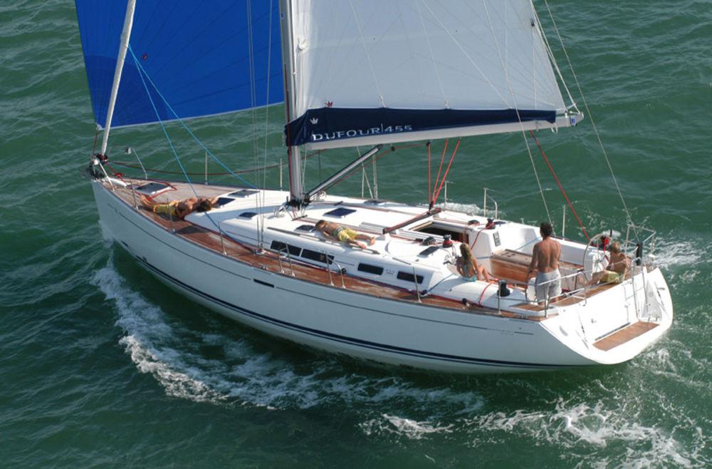 location bateau Dufour 455