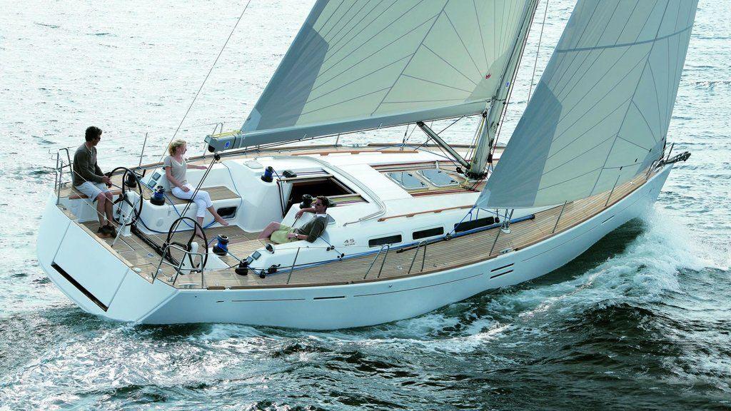 location bateau Dufour 45E