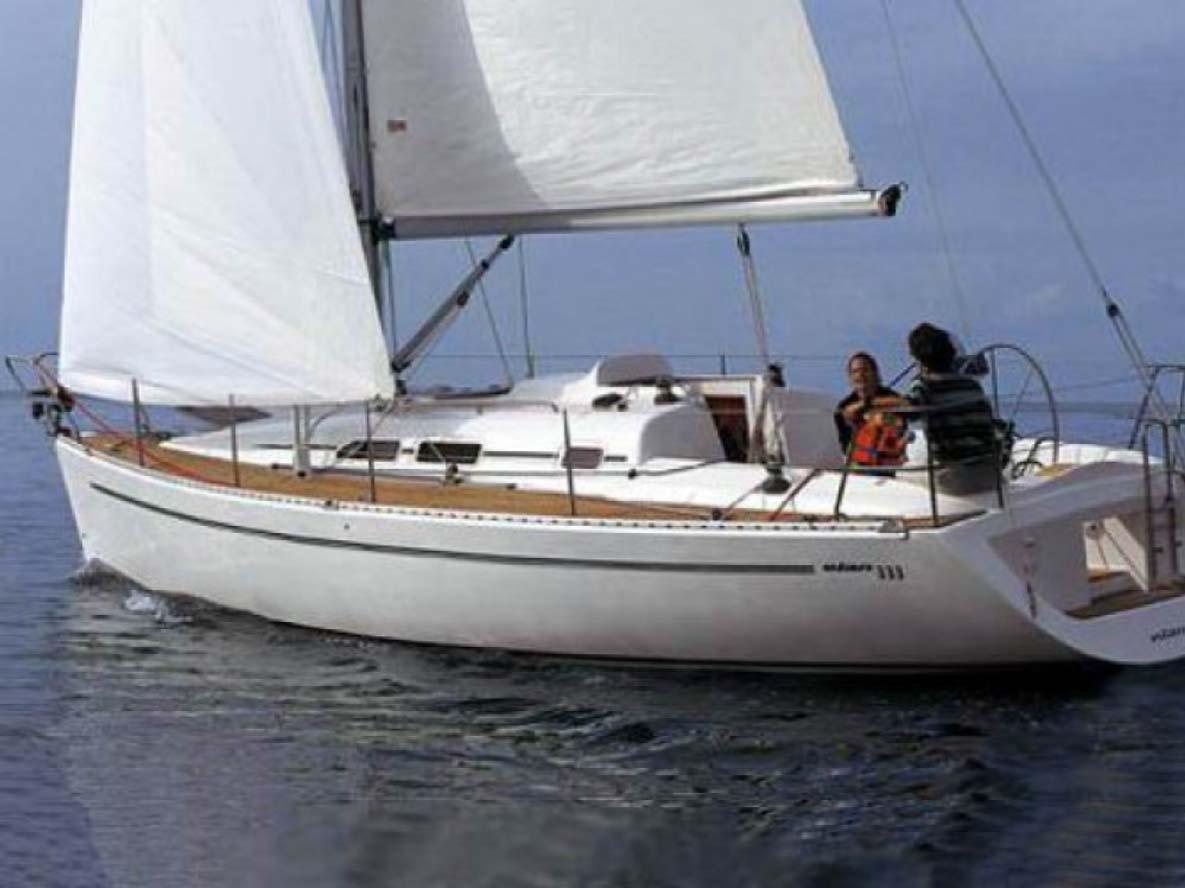 location bateau Elan 333