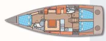 intérieur Elan 450