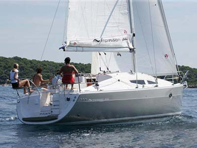 location bateau Elan Impression 344
