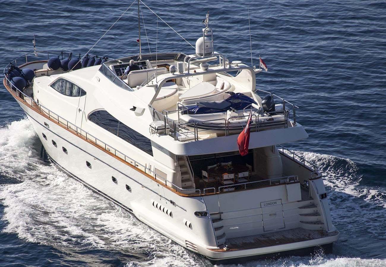 location bateau Falcon 86