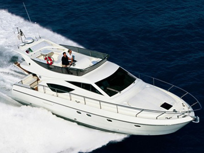 location bateau Ferretti 460