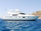 location bateau Ferretti 550