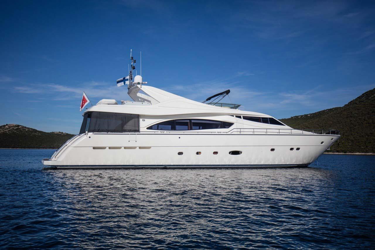 location bateau Ferretti 880