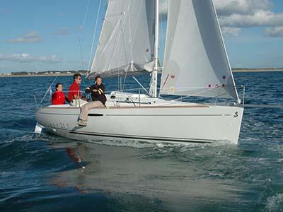 location bateau First 21.7