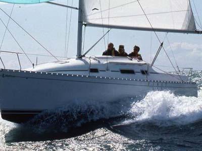location bateau First 265