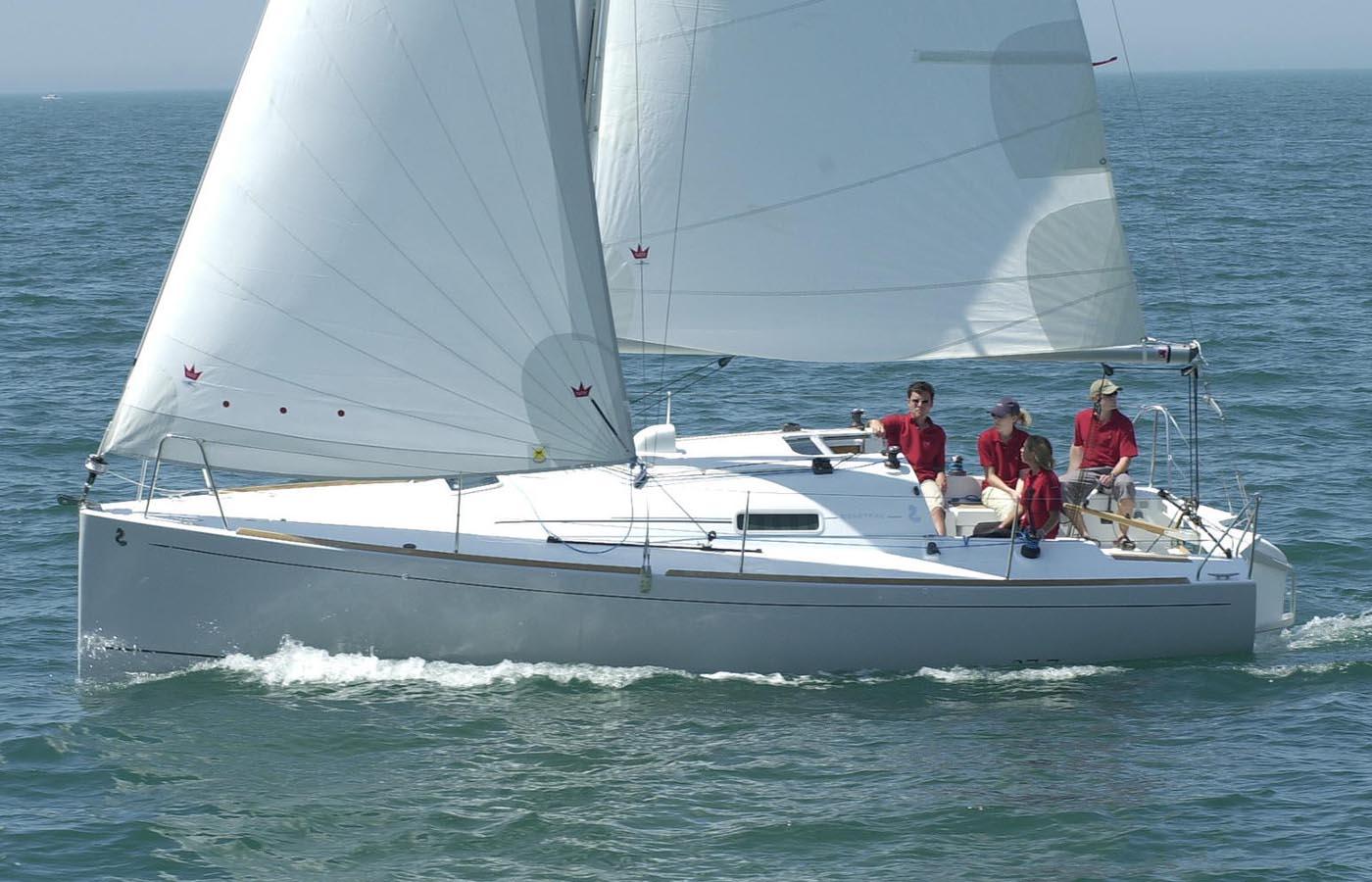 location bateau First 27.7