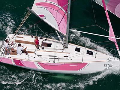 location bateau First 30
