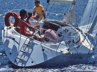location bateau First 345
