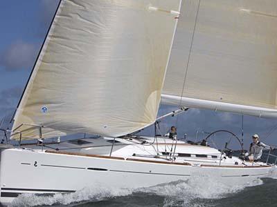 location bateau First 40