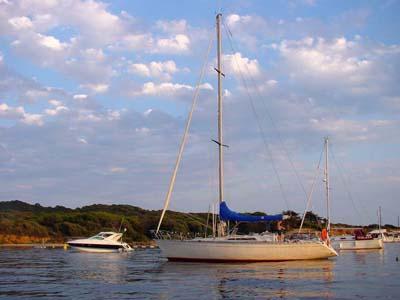location bateau First 42