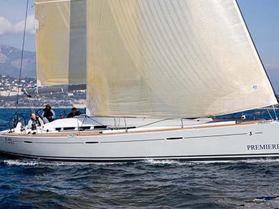 location bateau First 45