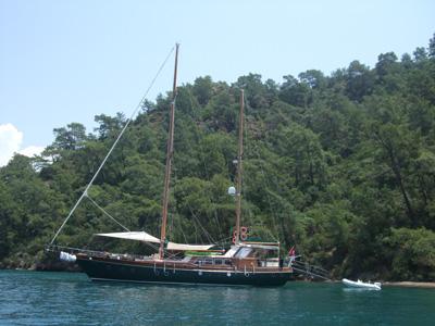 location bateau Freya