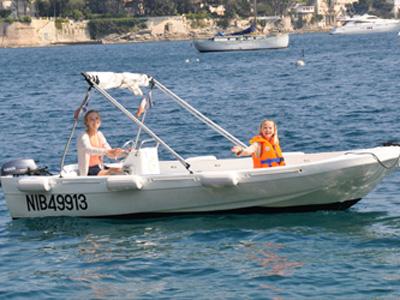 location bateau Fun Yak 450