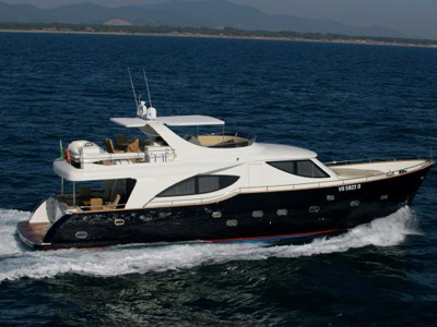 location bateau Gianetti Navetta Star 65