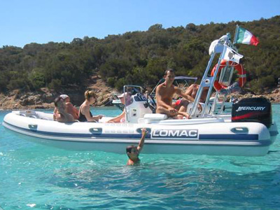 location bateau Gommone VTR 5.50