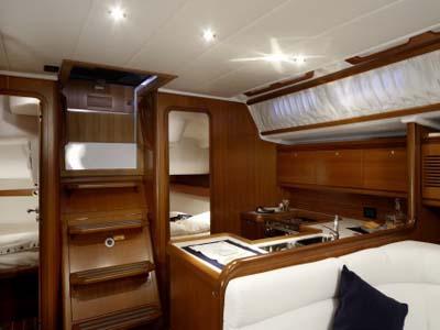 inside Grand Soleil 45