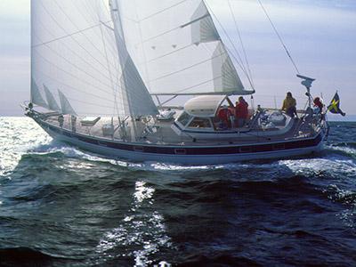location bateau Hallberg Rassy 49