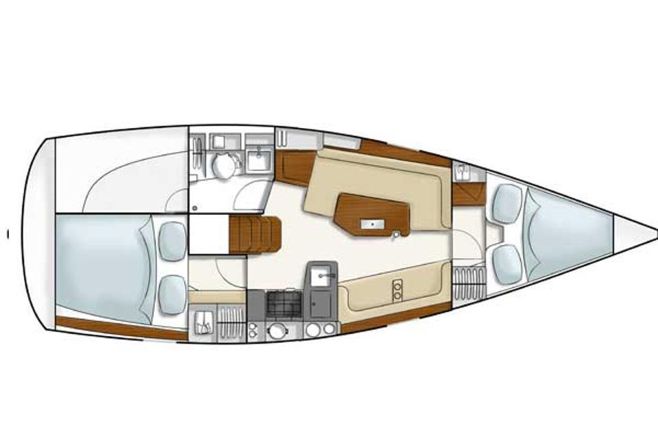 intérieur Hanse 320