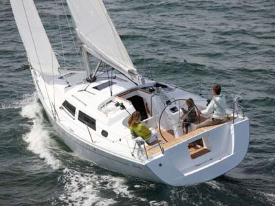 Location bateau  Hanse 355