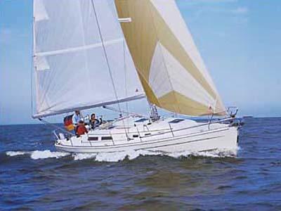 Location bateau  Hanse 371