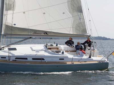 location bateau Hanse 40