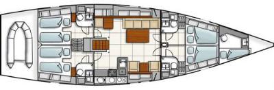 inside Hanse 540