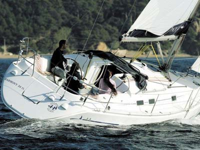 location bateau Harmony 34