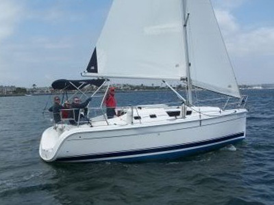 location bateau Hunter 31
