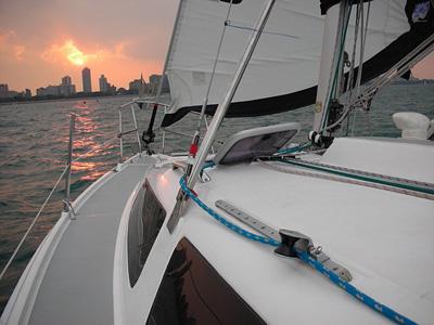 location bateau Hunter 32