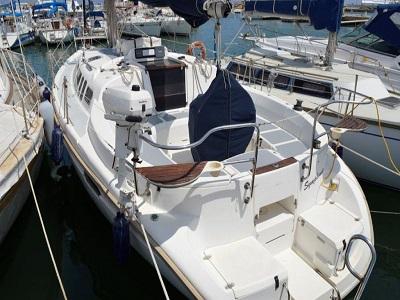 location bateau Hunter 336
