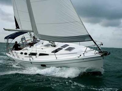 location bateau Hunter 36