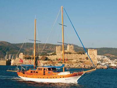 location bateau Kaya Guneri-I