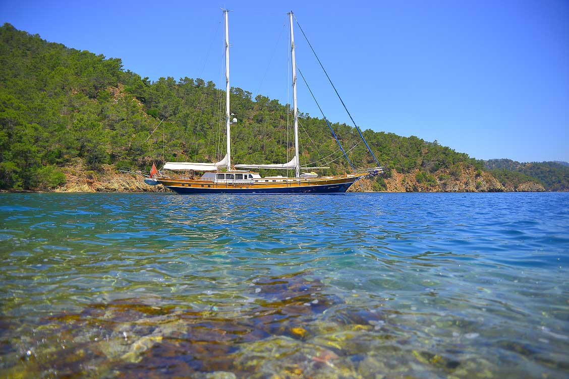 location bateau Kaya Guneri-IV