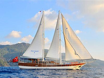 location bateau Kayhan 8
