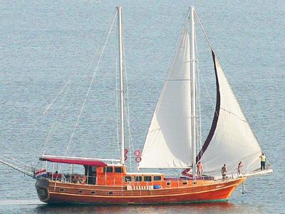 location bateau Krila 7