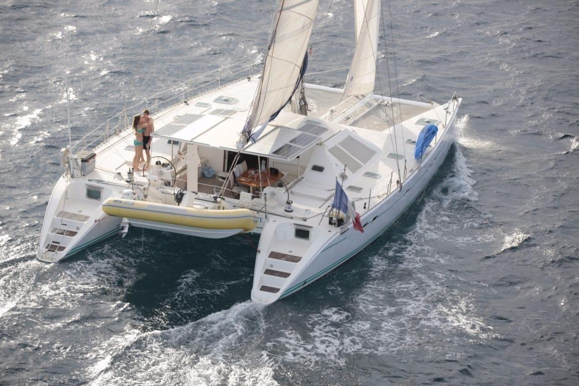location bateau Lagoon 57